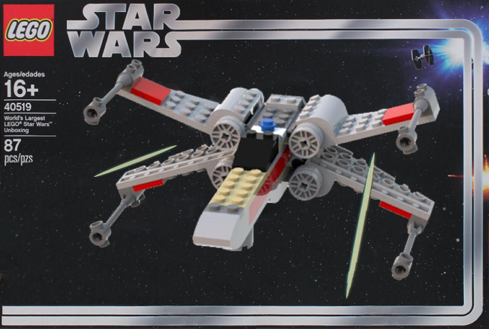 LEGO Star Wars X Wing Mini Big