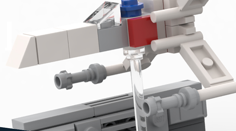 LEGO Star Wars X Wing Make Take Instructions Featured