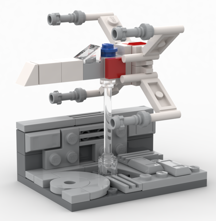 LEGO Star Wars X Wing Make Take Instructions