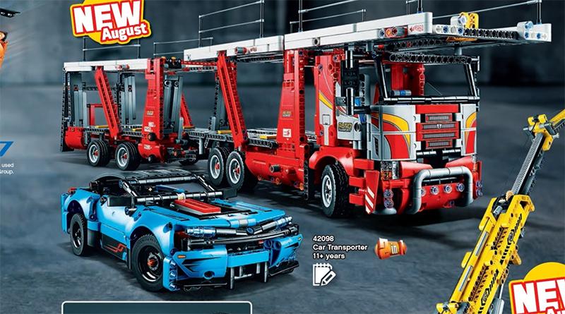 LEGO Technic 42098 Car Transporter featured 800 445
