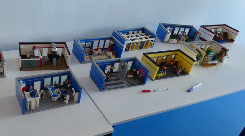 Largest LEGO brick diorama world record attempt at the LEGO House