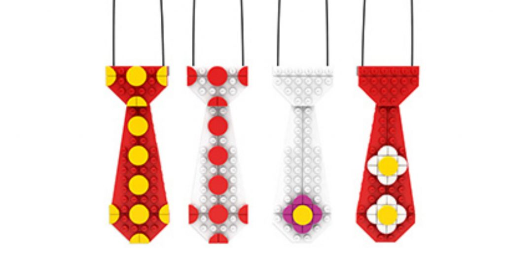 LEGO Fathers Day Tie Featured 800 445