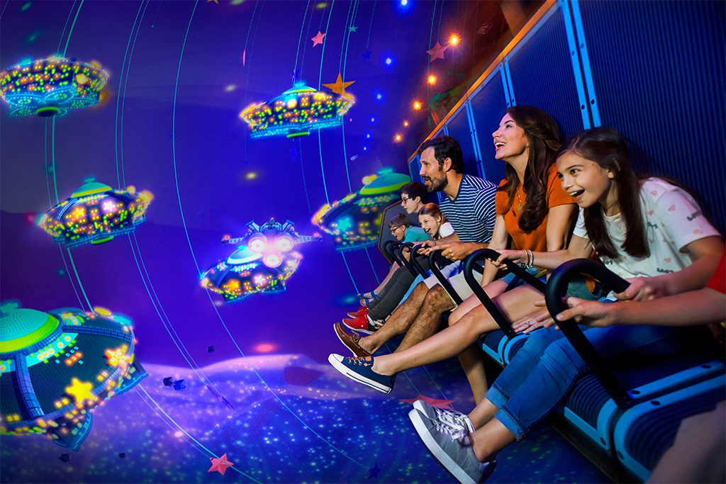 LEGOLAND Billund LEGO Movie World Flying Ride 1024x683