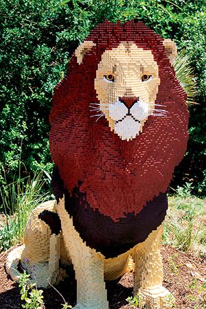 Philadelphia Zoo LEGO Lion