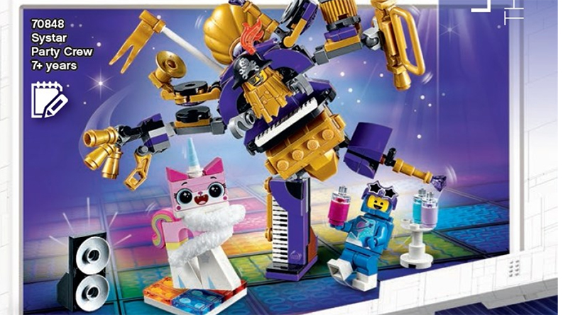 The LEGO Movie 2 70848 Systar Party Crew Featured 800 445