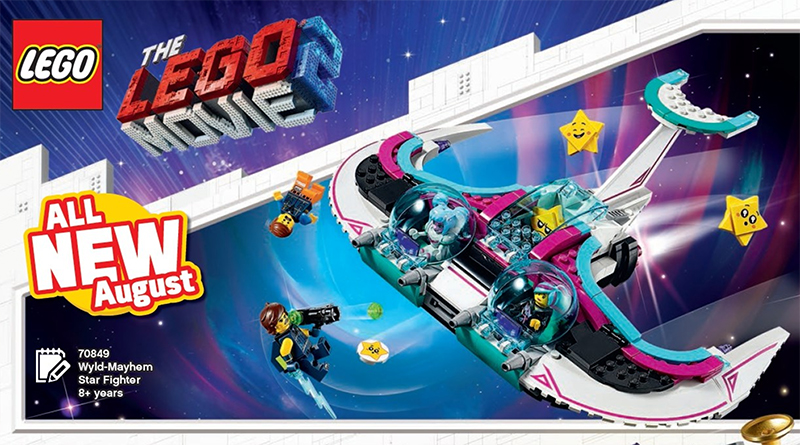 The LEGO Movie 2 70849 Wyld Mayhem Star Fighter Featured 800 445
