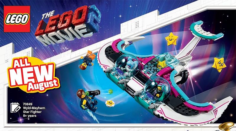 The LEGO Movie 2 70849 Wyld Mayhem Star Fighter featured 800 445