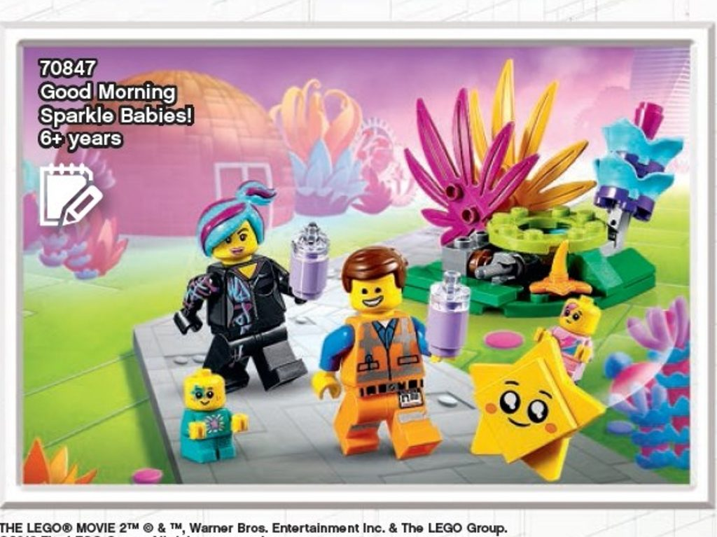 The LEGO Movie 2 Good Morning Sparkle Babies 1024x767