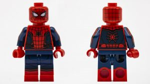 spiderman minifig