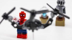 spiderman vs drone