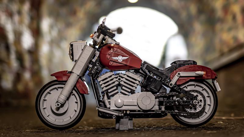 10269 Harley Davidson Fat Boy Brick Fanatics Magazine 3