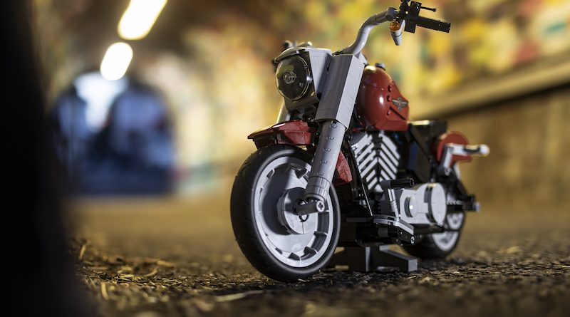 10269 Harley Davidson Fat Boy Brick Fanatics Magazine 5