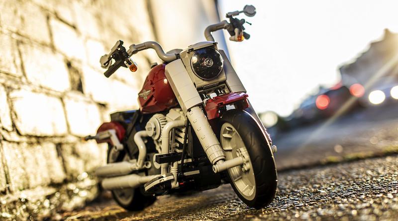 10269 Harley Davidson Fat Boy Brick Fanatics Magazine Title1