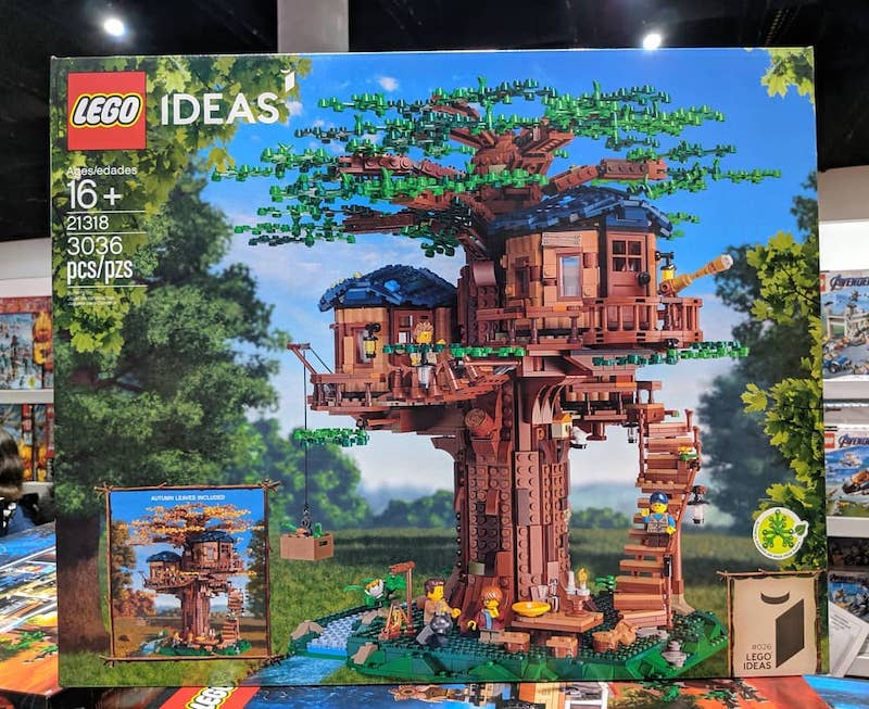 LEGO Ideas 21318 Treehouse removed from sale at San Diego Comic Con