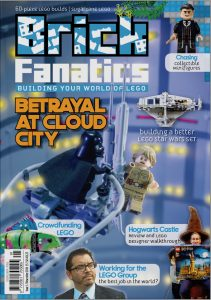 Brick Fanatics Magazine Issue 1 Cover 211x300