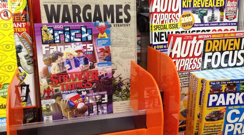 Brick Fanatics Magazine Issue 7 In UK Stores