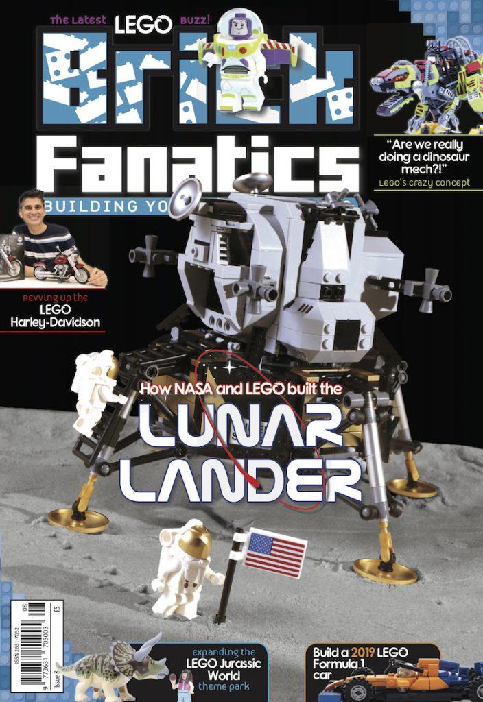 Brick Fanatics Magazine Issue 8 Cover