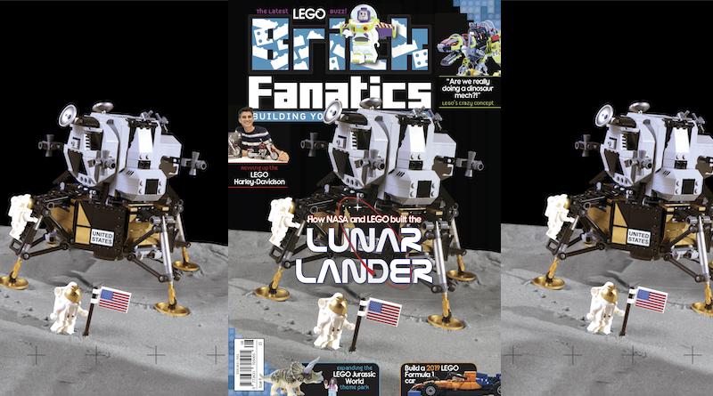 Brick Fanatics Magazine Issue 8 Cover Title