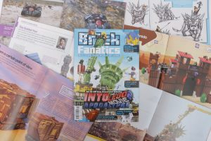 Brick Fanatics Magazine Issue 2 Collection 300x200
