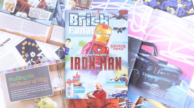 Brick Fanatics Magazine Issue 6 Collection Title