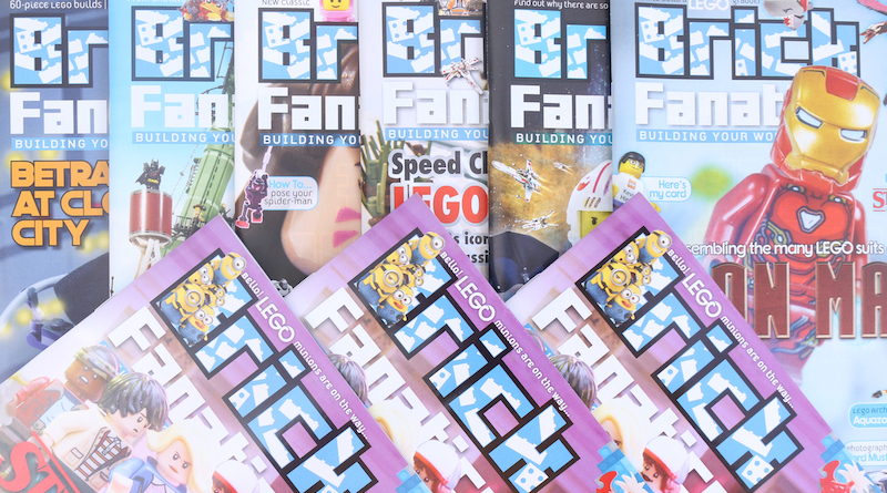 Brick Fanatics Magazine Issues 1 To 7