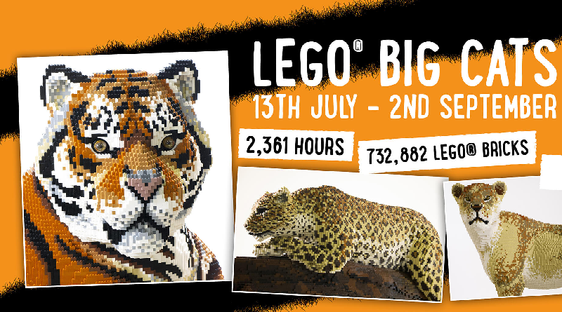 LEGO Big Cats Twycross Zoo Featured 800 445