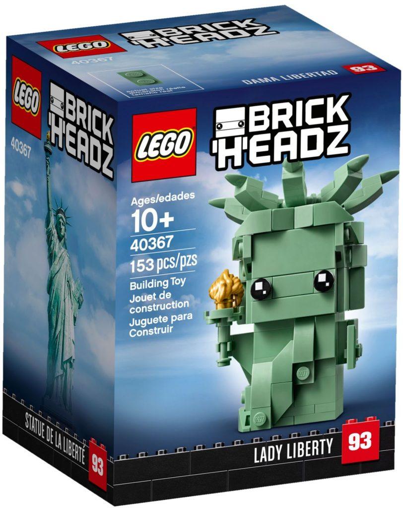 LEGO BrickHeadz 40367 Lady Liberty 812x1024