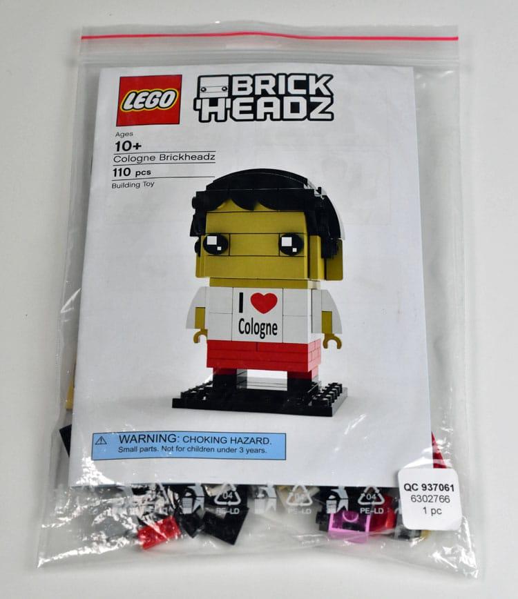LEGO BrickHeadz 6302766 Cologne BrickHeadz01