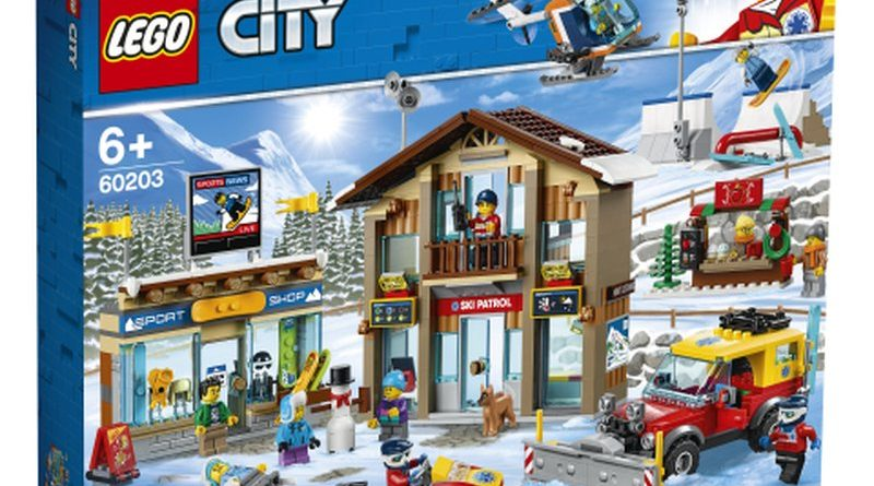 LEGO City 60203 Ski Resort 1 800x445