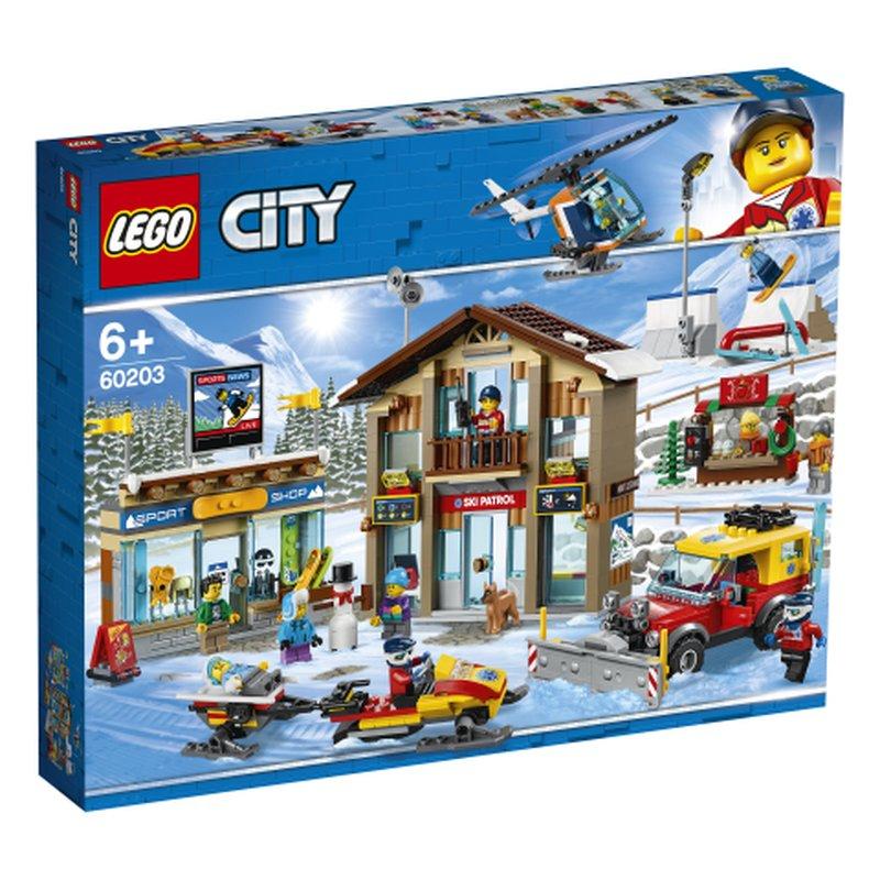 LEGO City 60203 Ski Resort 1