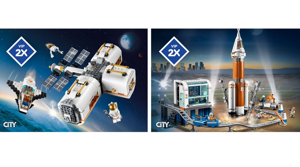 LEGO City Double VIP Points Featured 800 445