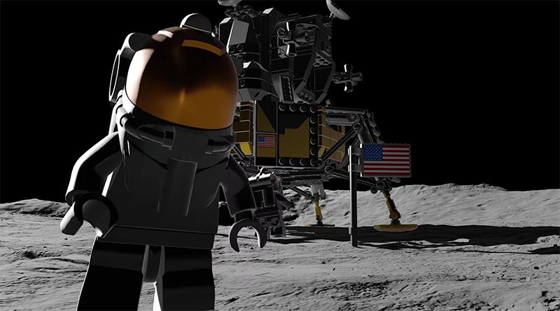 LEGO Creator Expert 10266 Apollo 11 Lunar Lander Mon Landing Featured 800 445