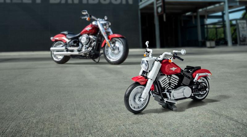 LEGO Creator Expert 10269 Harley Davidson Fat Boy Featured 800 445