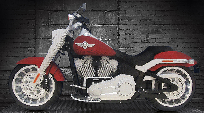 LEGO Creator Expert 10269 Harley Davidson Fat Boy Full Featured 800 445