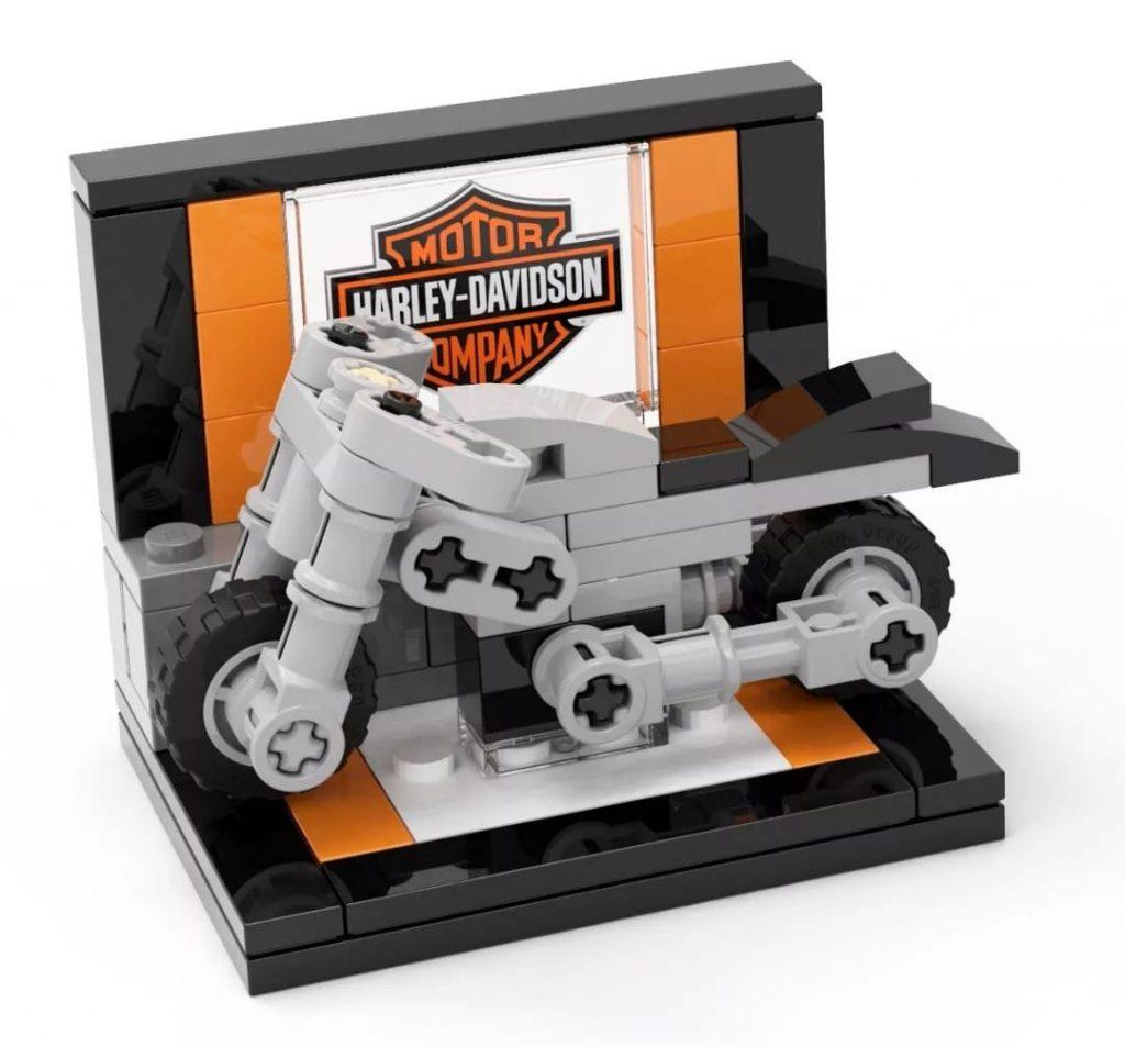 LEGO Creator Expert 10269 Harley Davidson Fat Boy Make Take 1 1024x953