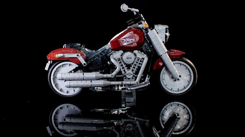 Harley Davidson: LEGO Creator Expert 10269 Harley-Davidson Fat Boy