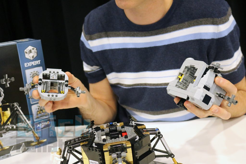 LEGO Creator Expert 1066 Lunar Lander Jamie Berard demo