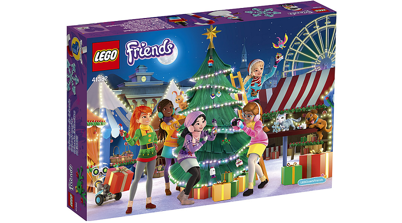 LEGO Friends 41382 Advent Calendar Featured 800 445 800x445