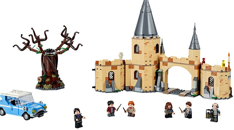 LEGO Harry Potter 75953 Whomping Willow Featured 800 445