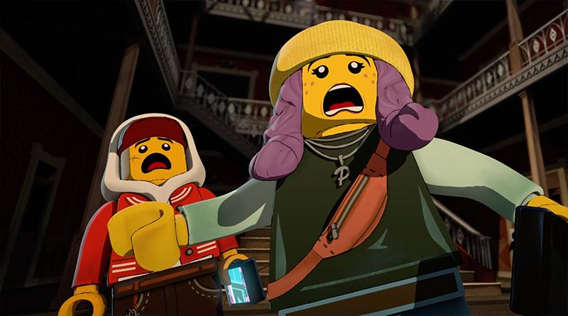 LEGO Hidden Side Short Featured 800 445