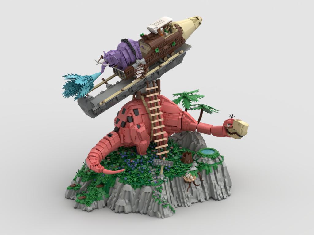 LEGO Idea Mammoth Rocket Ride 1024x768
