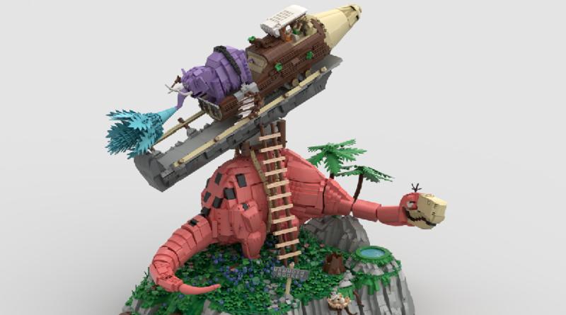 LEGO Idea Mammoth Rocket Ride Featured 800 445 800x445
