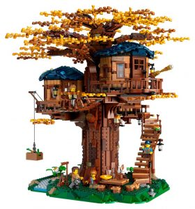 LEGO Ideas 21318 Treehouse 17 280x300