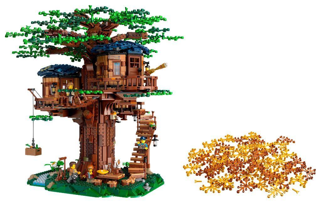 LEGO Ideas 21318 Treehouse 20