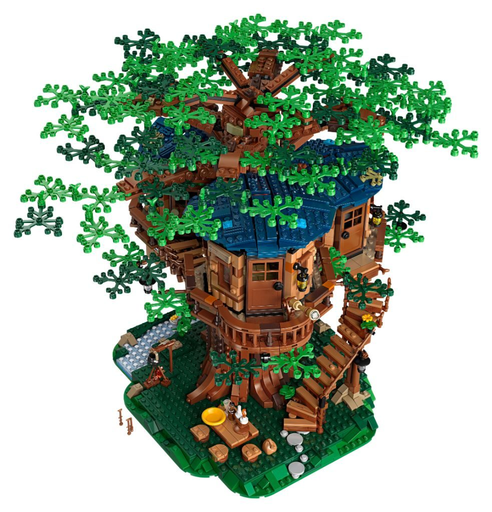 LEGO Ideas 21318 Treehouse 4 983x1024