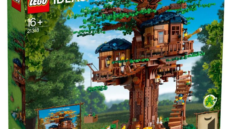 LEGO Ideas 21318 Treehouse 7 800x445
