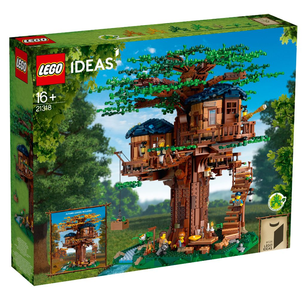 LEGO Ideas 21318 Treehouse 7