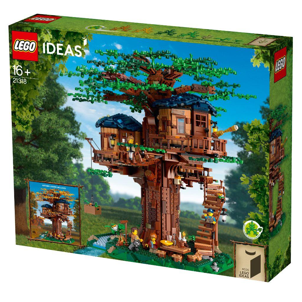 LEGO Ideas 21318 Treehouse 9