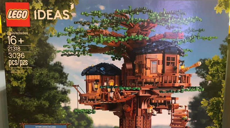 LEGO Ideas 21318 Treehouse Featured 800 445