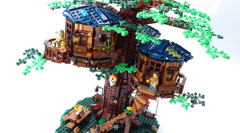 LEGO Ideas 21318 Treehouse Review Featured 800 445 1